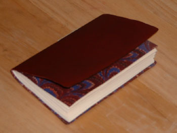 Single signature sewn binding