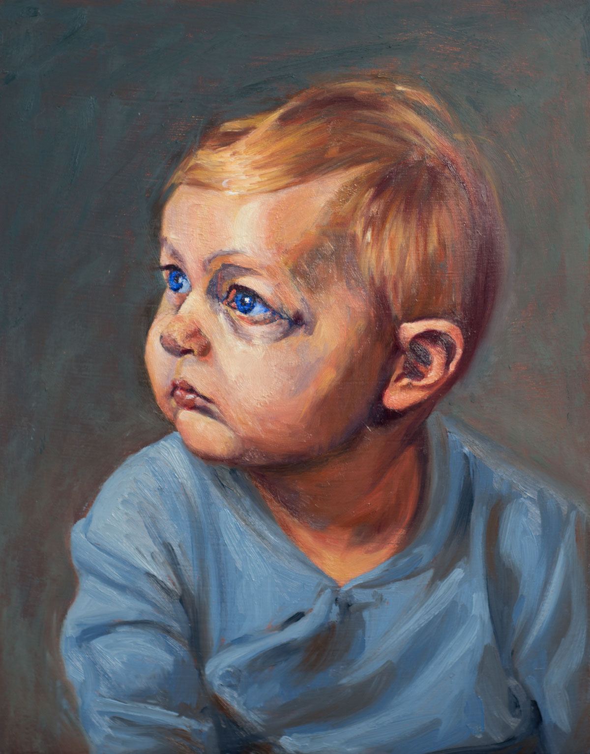 Portrait of Theo