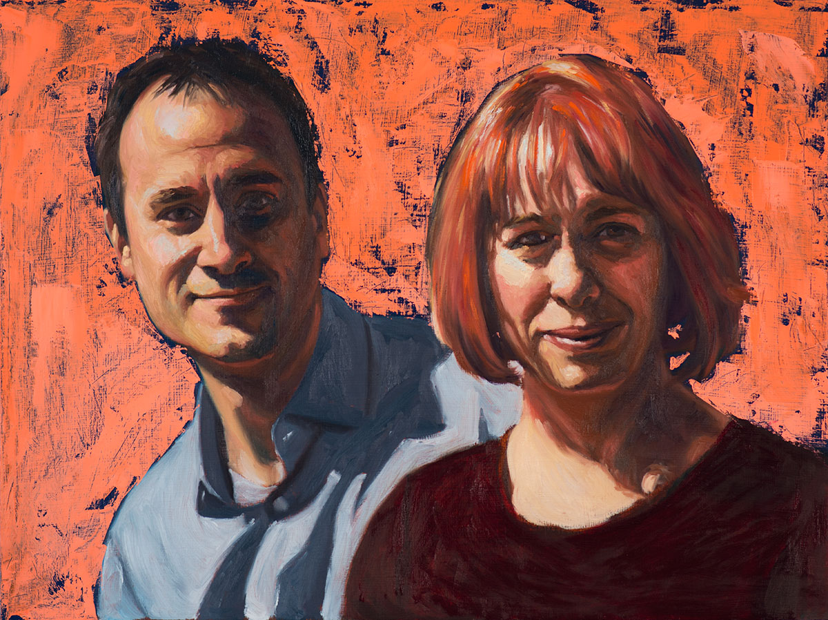 Paul and Mandie (in progress)