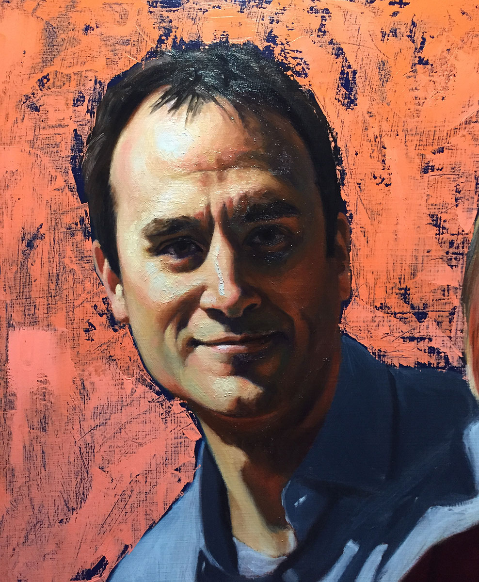 Paul (detail, in progress)
