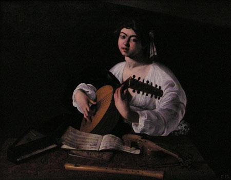 Caravaggio : Boy with Lute