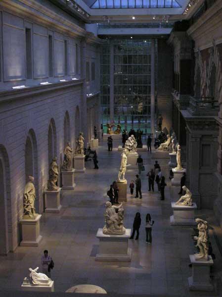 Sculpture Courtyard at the Met