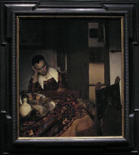 Vermeer : Woman Sleeping