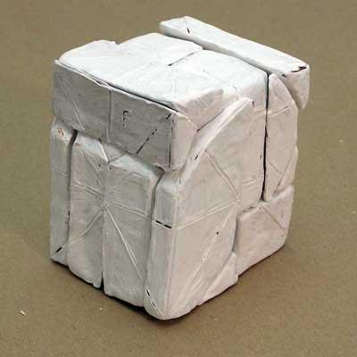 Plasteline Skull Block
