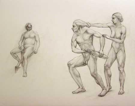 Achilles, Athena and Agamemnon