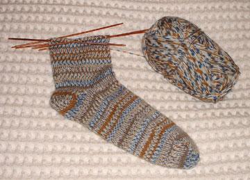 Mom's Jubilee socks