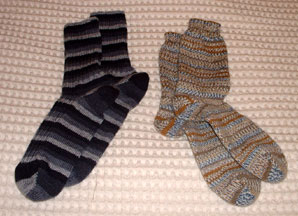 Socks for Mom and Dad