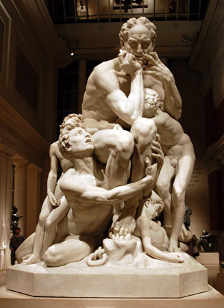 Ugolino and His Children by Carpeaux