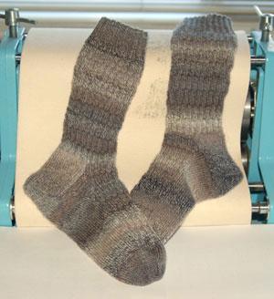 Trekking socks for Jeremy