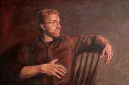 Casey Portrait (In Progress)