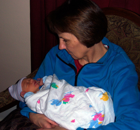 Nolan and Grandma Rita