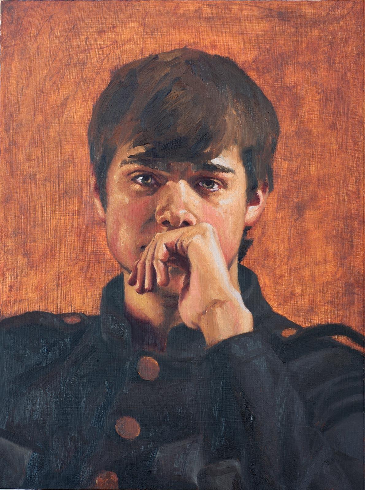 Portrait of Josh (in progress)