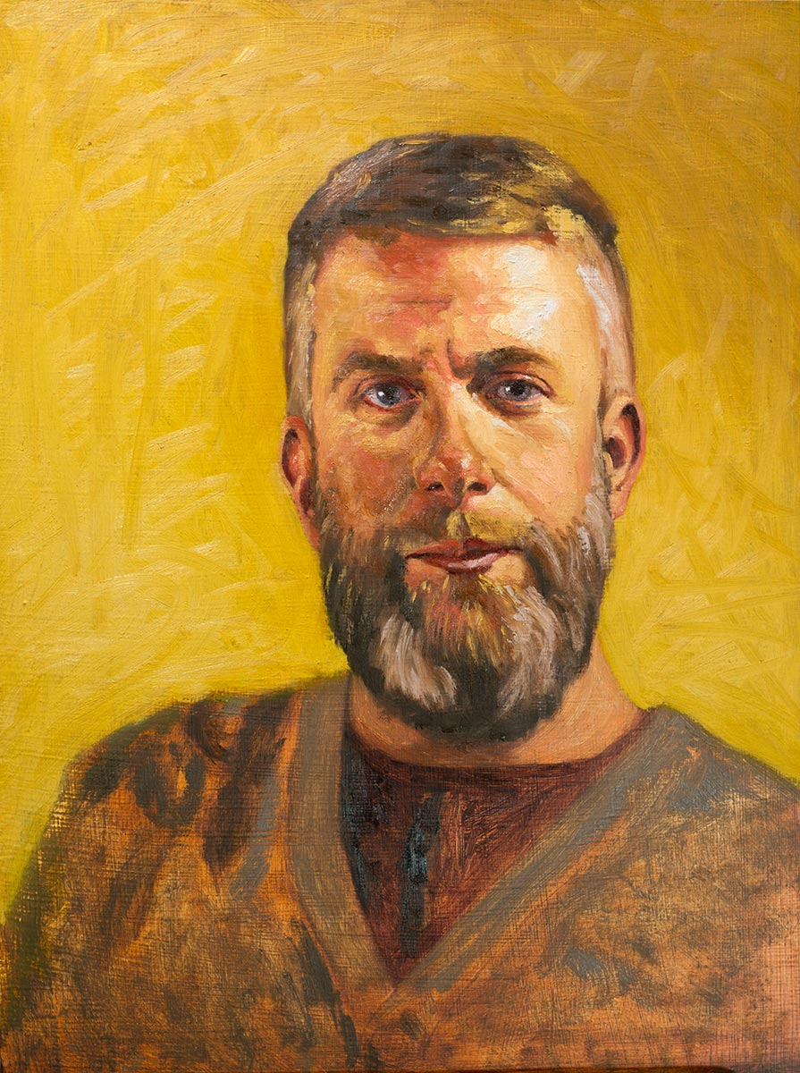 Portrait of Shad - in progress