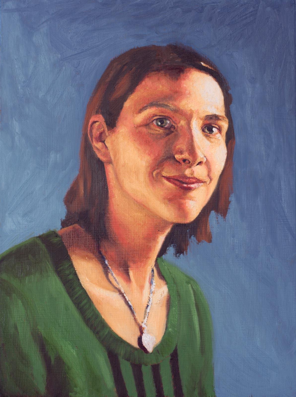 Portrait of Tabby (in progress)