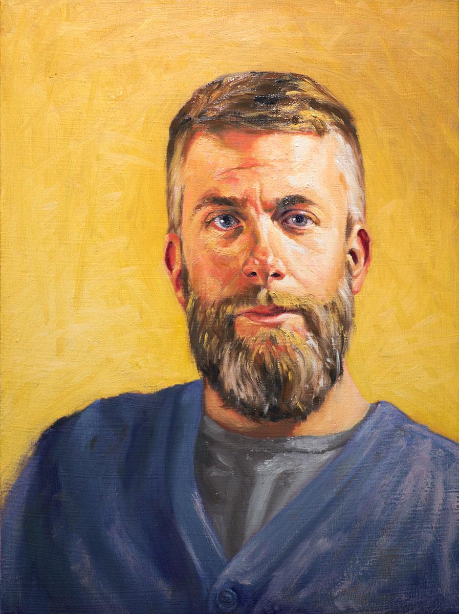 Portrait of Shad (in progress)