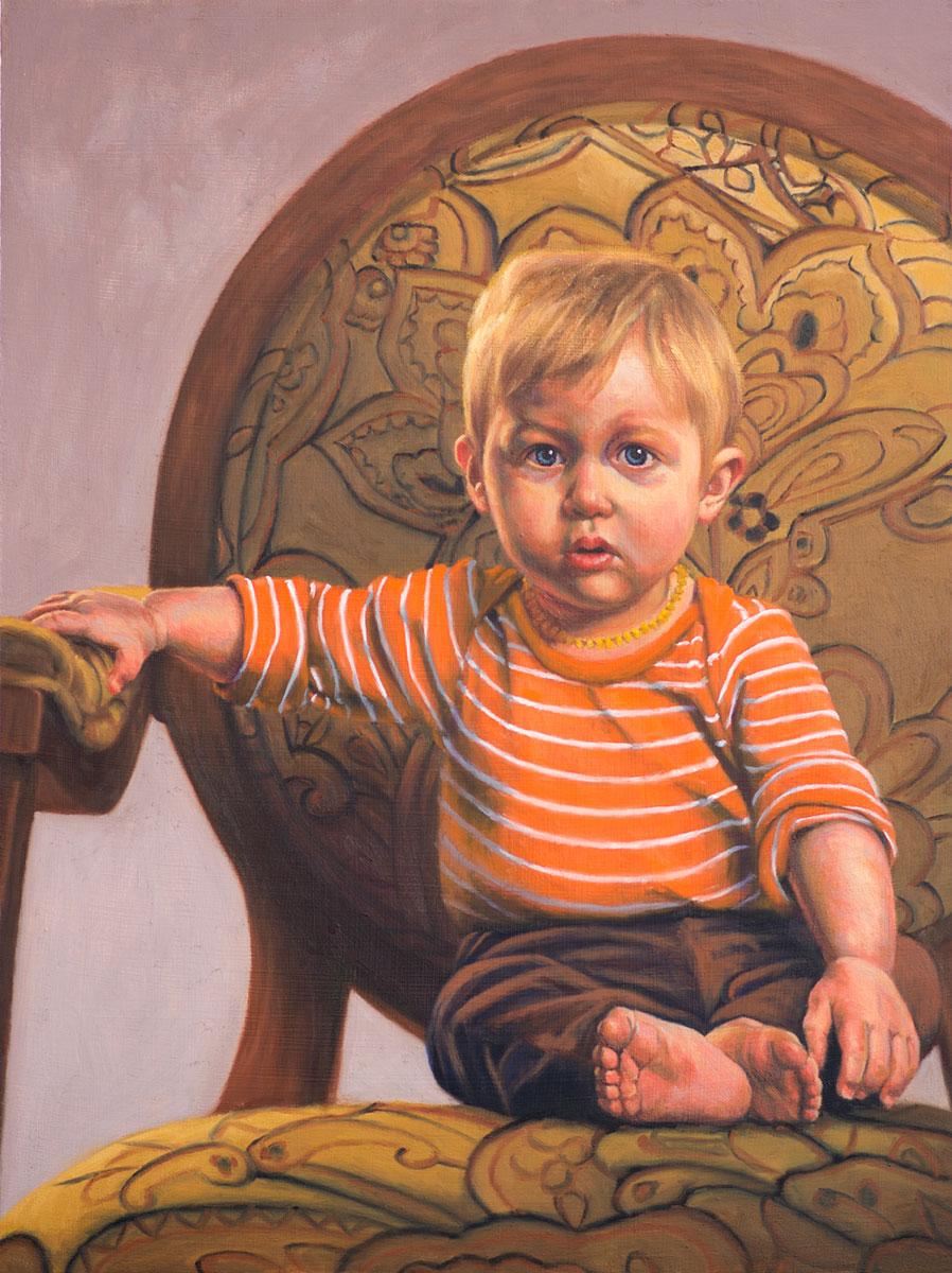 Portrait of Theo (in progress)