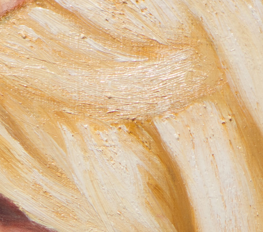 Brushwork detail from Kayti