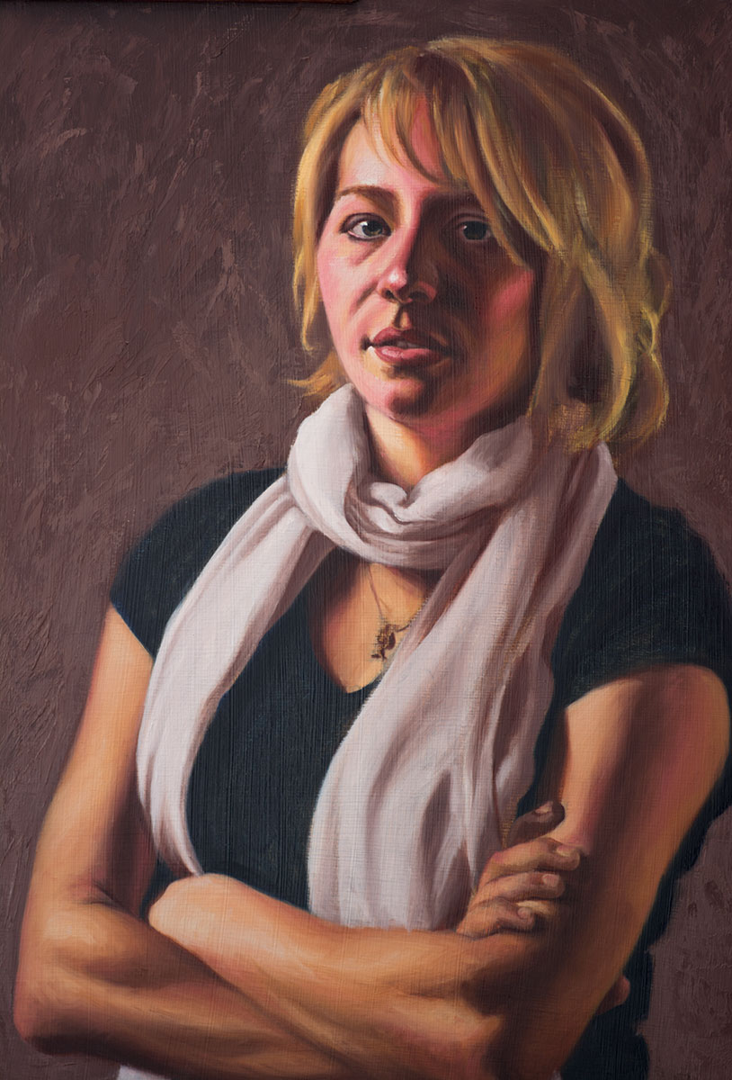 Jordyn (in progress, detail)