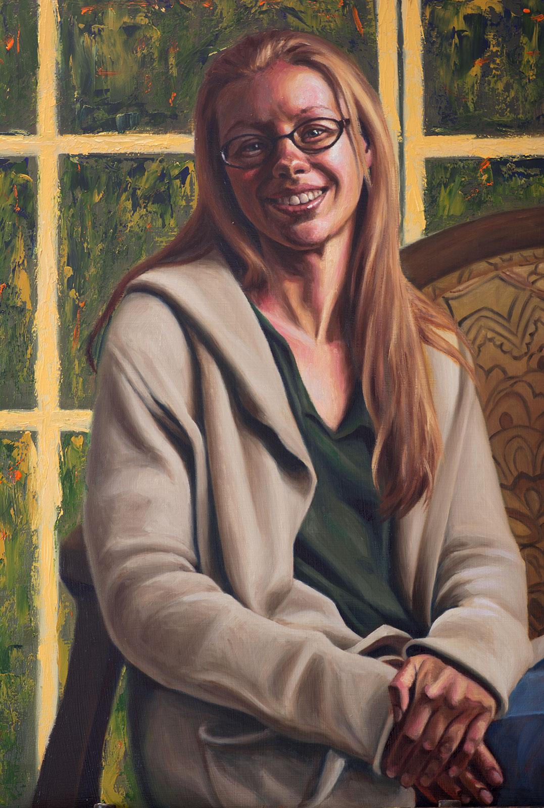 Portrait of Julie