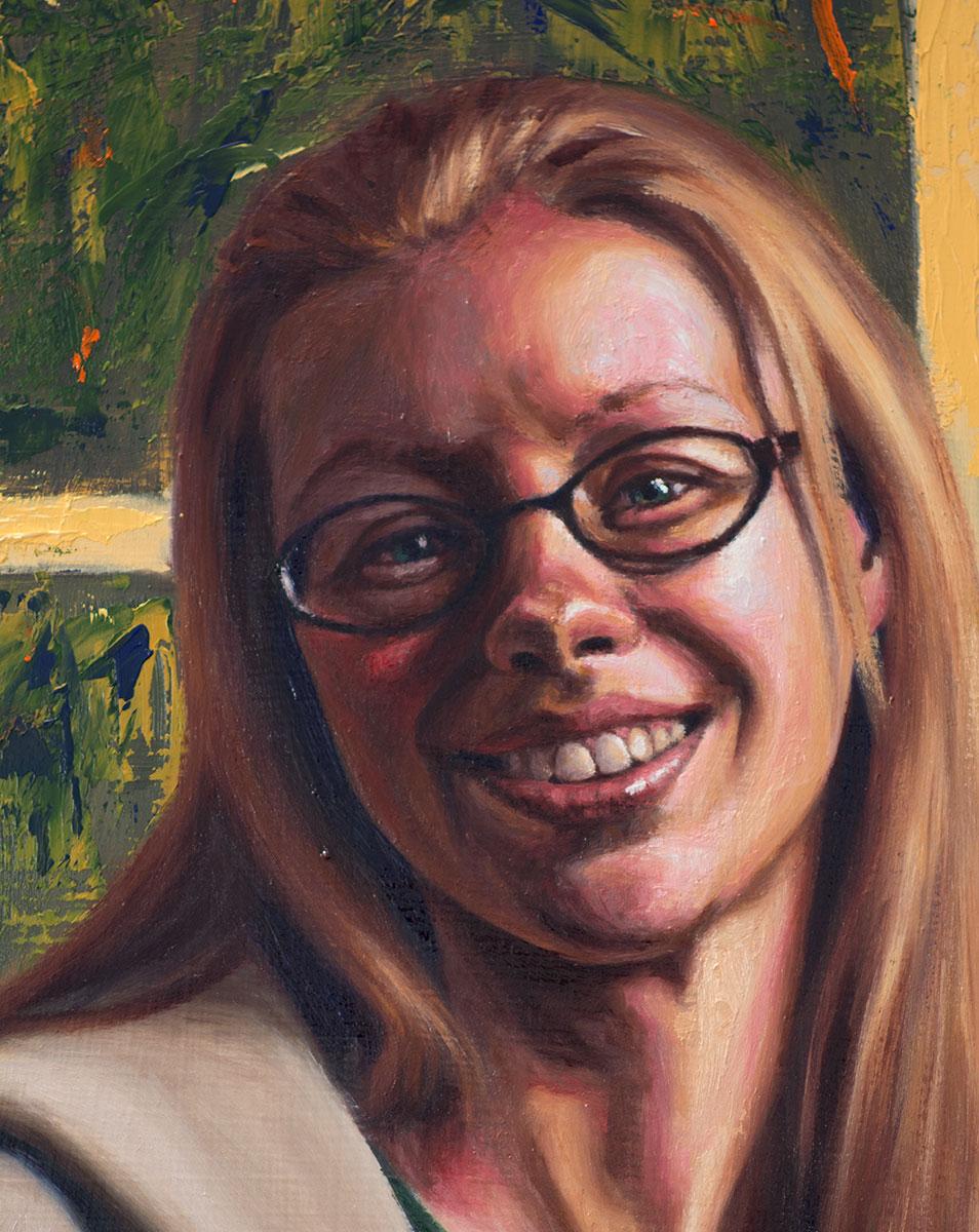 Portrait of Julie (detail)